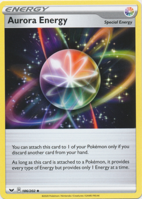 Auora Energy Pokemon TCG Codes