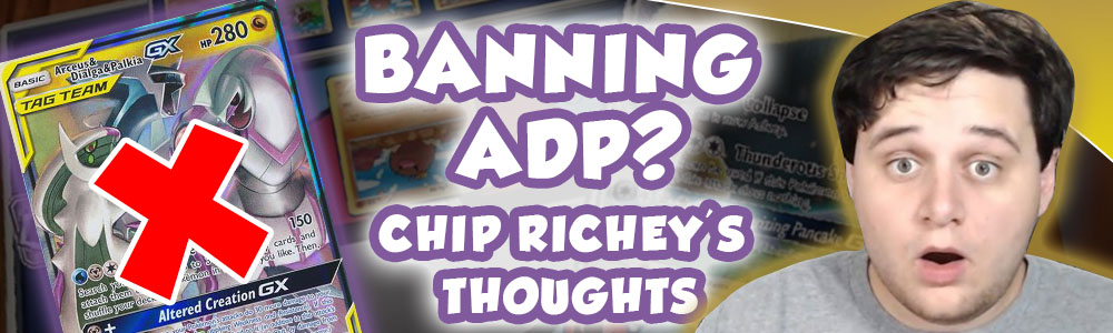Chip Richey's Thoughts on Banning ADP