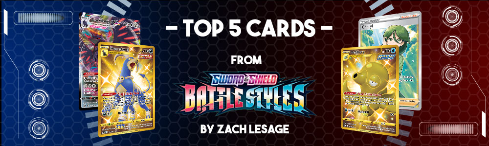 Top 5 Battle Styles Cards!