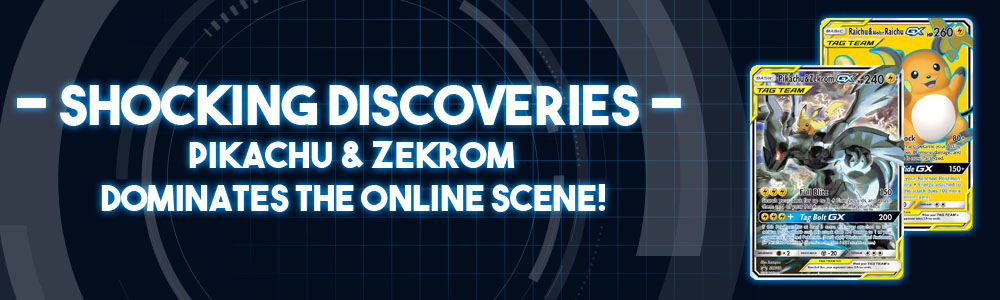 """Shocking Discoveries"" – Pikachu/Zekrom Tag Team Dominates the Online Scene!"