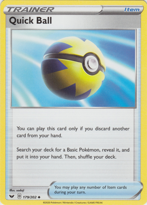 Quick Ball Pokemon TCG Codes
