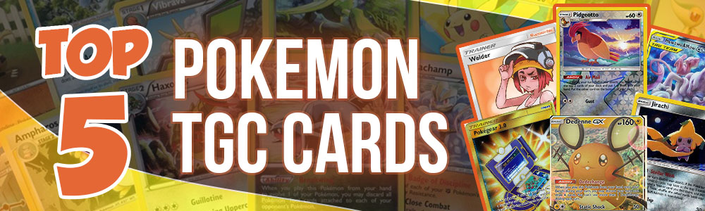 Top Five Competitive Pokemon TCG Cards in Standard
