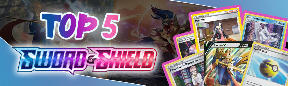 Top 5 Sword and Shield Cards in Pokemon TCG Online