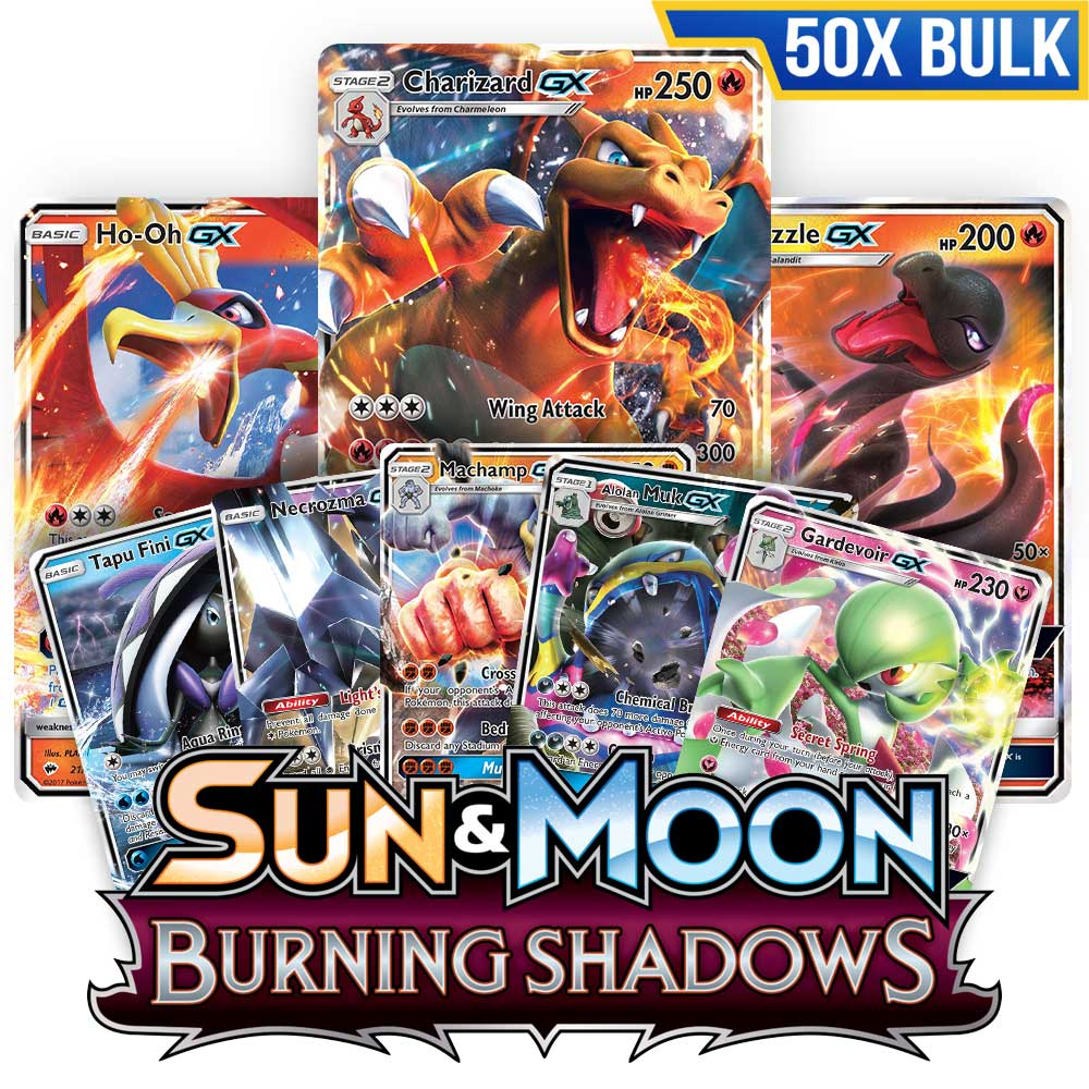 Bulk 50x <b>Burning Shadows</b> - Pokemon TCG Codes