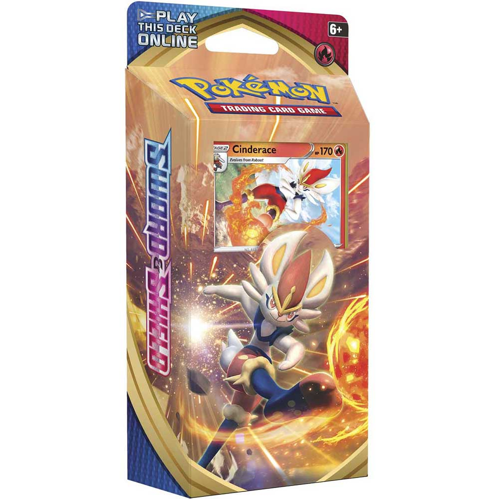 <b>Cinderace Theme Deck</b> - Pokemon TCG Online Codes