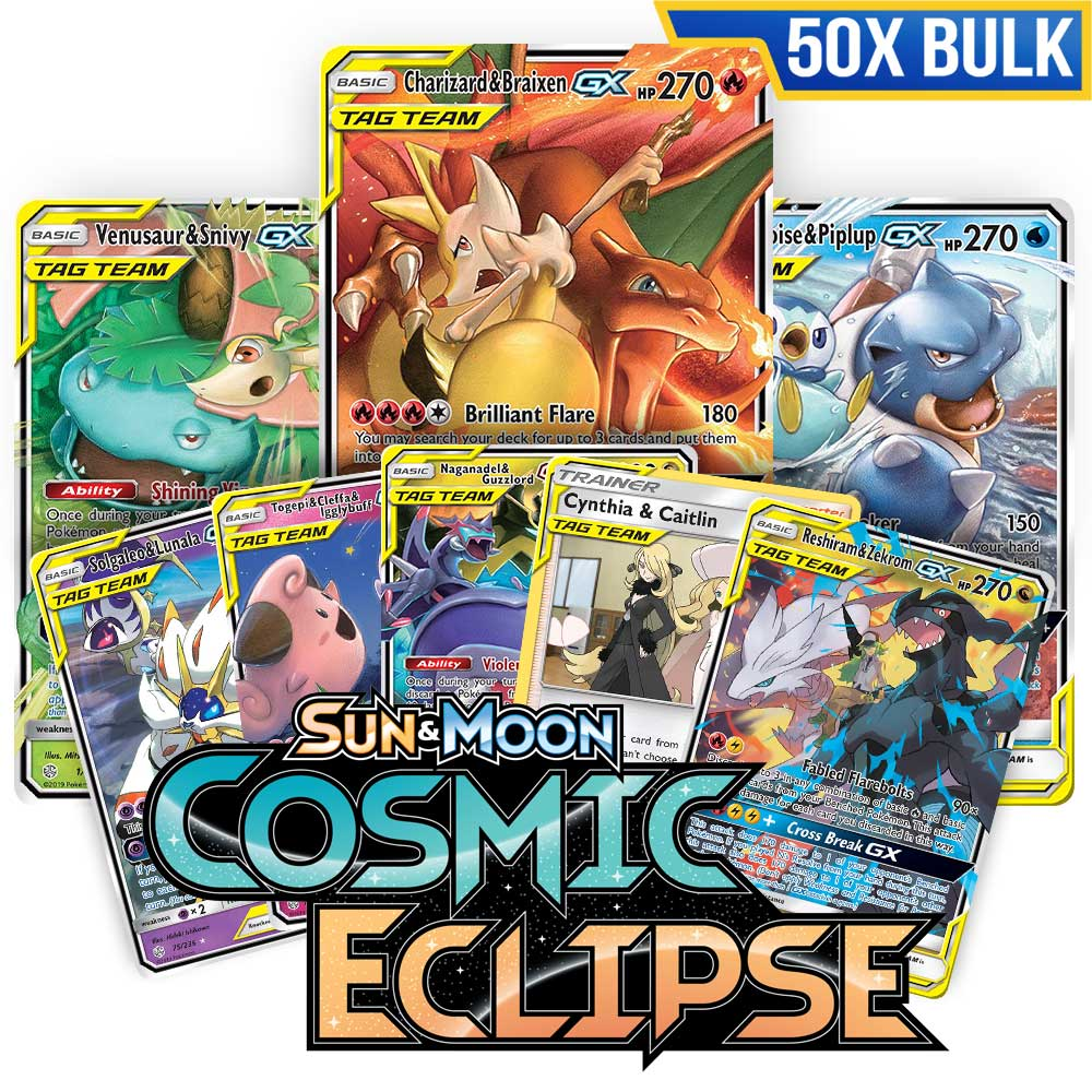 Bulk 50x <b>Cosmic Eclipse</b> - Pokemon TCG Codes