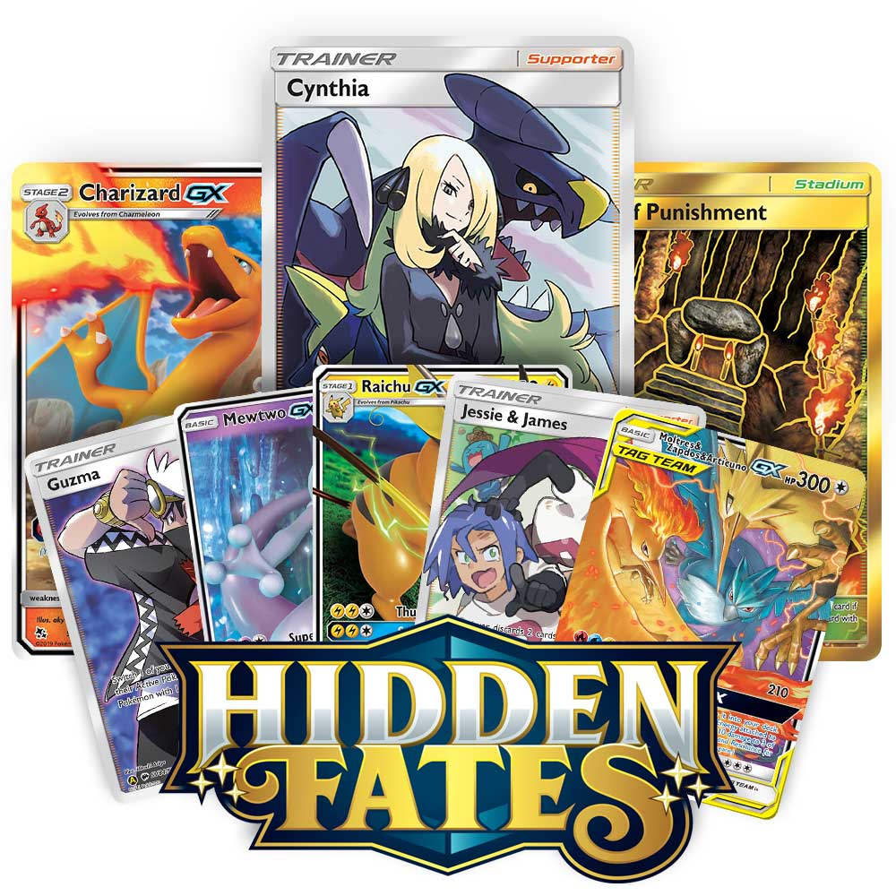 <b>Hidden Fates</b> Booster Pack - Sun & Moon - Pokemon TCG Online Codes