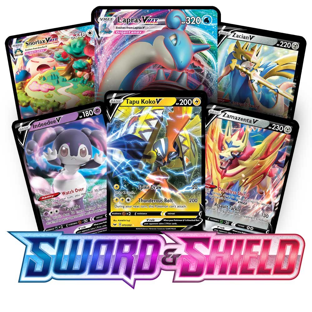 <b>Sword & Shield</b> Booster Pack - Sun & Moon - Pokemon TCG Online Codes