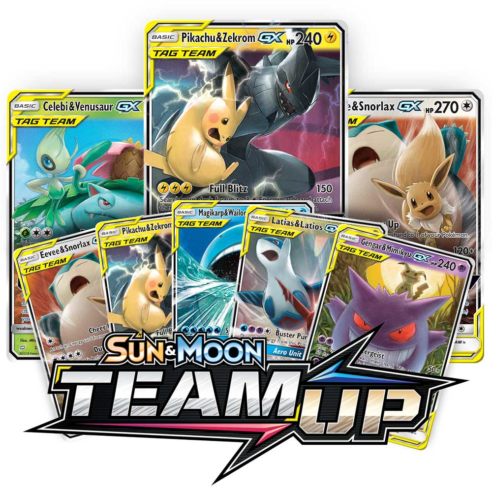 <b>Team Up</b> Booster Pack - Sun & Moon - Pokemon TCG Online Codes