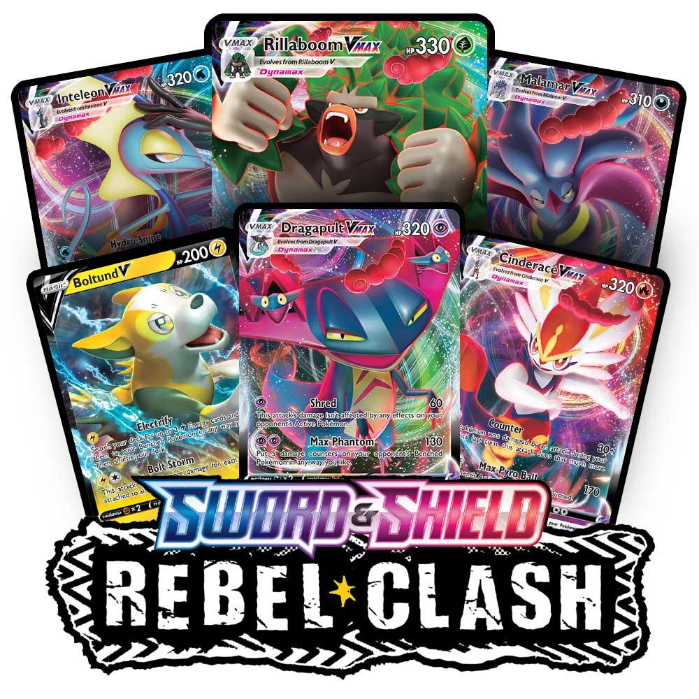 032//192 Rebel Clash PTCGO Online Digital Card Lampent