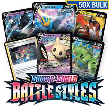 Bulk 50x Battle Styles - Pokemon TCG Codes
