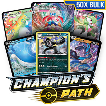 Bulk 50x Champion's Path - Pokemon Code Cards