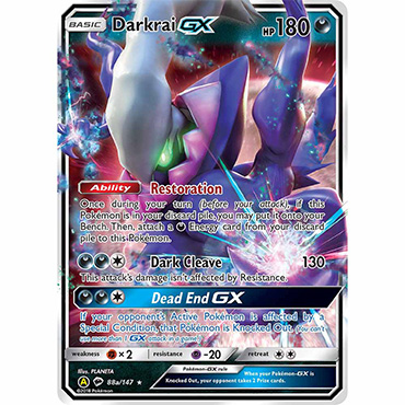 <b>Darkrai-GX</b> Pokemon TCG Code