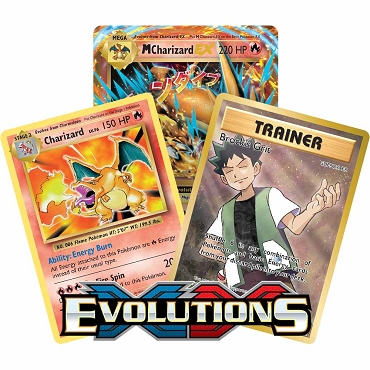<b>Evolutions</b> Booster Pack - XY - Pokemon TCG Online Codes