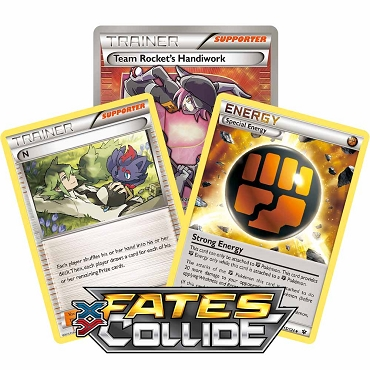 <b>Fates Collide</b> Booster Pack - XY - Pokemon TCG Online Codes