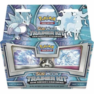 <b>Alolan Sandslash & Alolan Ninetales Deck</b> Sun & Moon Trainer Kit - Pokemon TCG Online Codes