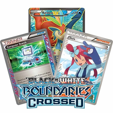 <b>Boundaries Crossed</b> - Black & White - Pokemon TCG Codes