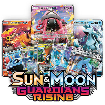 <b>Guardians Rising</b> Booster Pack - Sun & Moon - Pokemon TCG Online Codes