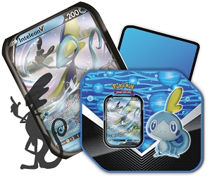 <b>Inteleon V - Galar Partners Tin</b> - Pokemon TCG Code