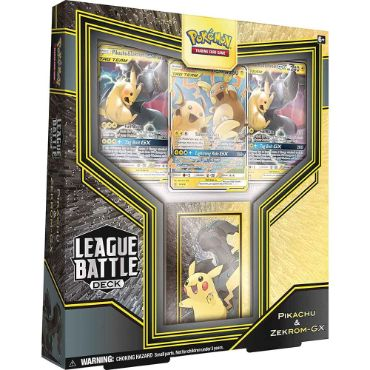 <b>Pikachu & Zekrom-GX</b> League Battle Deck - PTCGO Code
