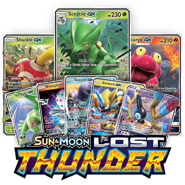 <b>Lost Thunder</b> - PTCGO Codes