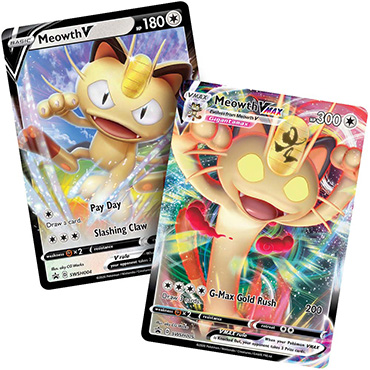 <b>Meowth V & Meowth V MAX</b> Premium Collection - Pokemon Code Cards