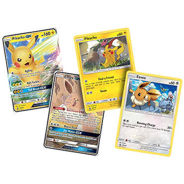 <b>Pikachu-GX & Eevee-GX Collection</b> - Pokemon TCG Code
