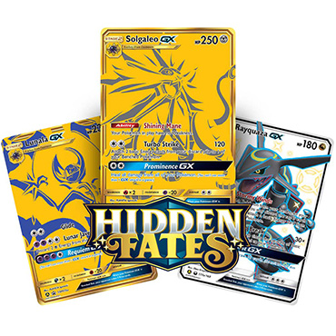<b>Premium Powers Hidden Fates Collection</b> (Solgaleo-GX) - Pokemon TCG Code