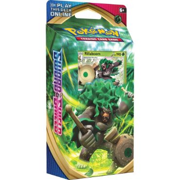 <b>Rillaboom Theme Deck</b> - Pokemon TCG Code
