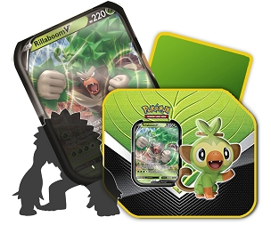 <b>Rillaboom V - Galar Partners Tin</b> - Pokemon TCG Code