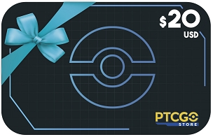 $20.00 USD Gift Card for PTCGO Codes