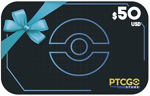 $50.00 USD Gift Card for PTCGO Codes