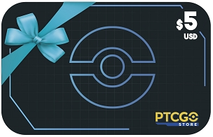 $5.00 USD Gift Card for PTCGO Codes