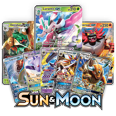 <b>Sun & Moon</b> Booster Pack - Pokemon TCG Online Codes