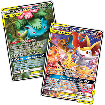 <b>Charizard & Braixen-GX and Venusaur & Snivy-GX</b> - Pokemon TCG Code