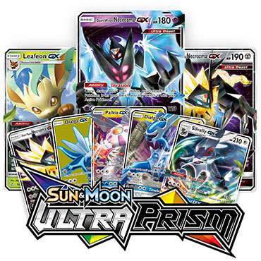 <b>Ultra Prism</b> Booster Pack - Sun & Moon - Pokemon TCG Online Codes