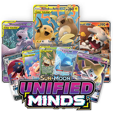 <b>Unified Minds</b> Booster Pack - Sun & Moon - Pokemon TCG Online Codes