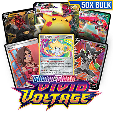 Bulk 50x Vivid Voltage - Pokemon TCG Codes