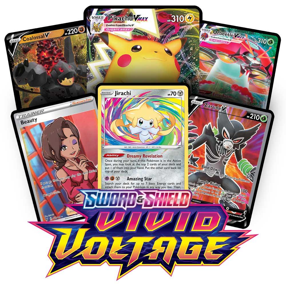 Vivid Voltage Ptcgo Codes