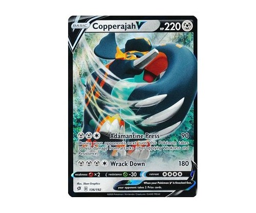 <b>Copperajah V</b> - Pokemon TCGO Code