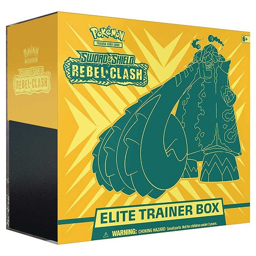 <b>Rebel Clash ETB</b> - Pokemon TCGO Codes