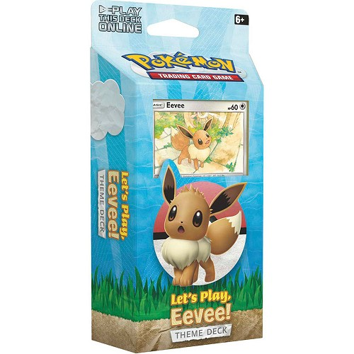 Let's Play Eevee Theme Deck - Pokemon TCG Online Codes