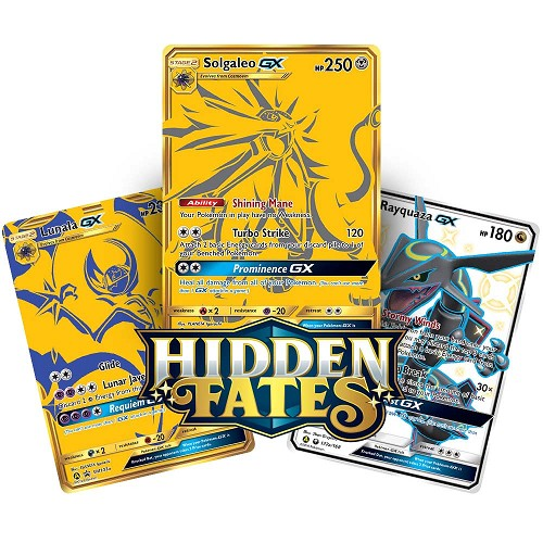 Premium Powers Hidden Fates Collection (Solgaleo-GX) - Pokemon TCG Code