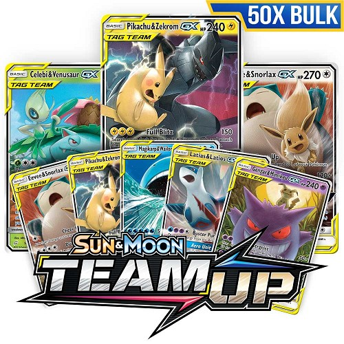 Bulk 50x <b>Team Up</b> - Pokemon TCG Codes