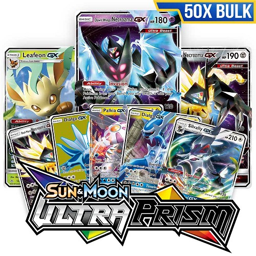 Bulk 50x Ultra Prism - Pokemon TCG Codes