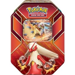 Fiery Focus Deck - Hoenn Power Tin: Blaziken-EX - PTCGO Code