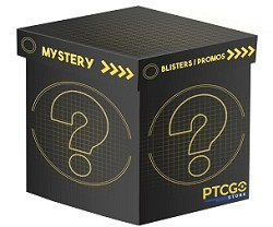 Mystery Box Blister or Promo - Pokemon Code Cards