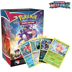 Battle Styles Prerelease Kit - Pokemon TCGO Codes