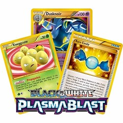 Plasma Blast - Pokemon TCG Codes
