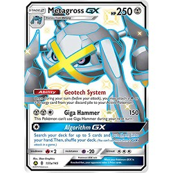 Shiny Metagross-GX - Pokemon TCG Code